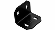 "National  N351-495  2.4"" X 3"" X 3/16"" Square Corner Brace - Black"