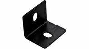 "National  N351-496  2.4"" X 3"" X 1/8""  Square Corner Brace -Black"