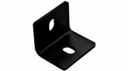 "National  N351-497  2.5"" X 3"" X 3/16"" Square Corner Brace - Black"