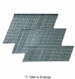 "Paslode 650232  2-1/2"" 16 Gauge Galvanized Angled Finish Nails - 2000 per box"