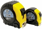 Performance Tool 1941  2 Piece Cushion Grip Tape Measure Set - 12' and 25'