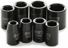 "Performance Tool M589DB  8 Piece 3/8"" Drive Metric Impact Socket Set - 8 to 19mm"
