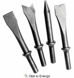 Performance Tool M620  4 Piece Air Chisel Set