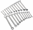 Performance Tool W1069  22 Piece SAE/Metric Combination Wrench Set