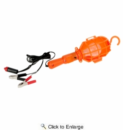 Performance Tool W2262  12V Plastic Drop Light with 20 Foot Cord