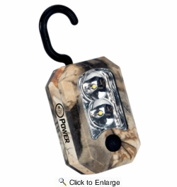 Performance Tool W2462  Camo LED Worklight  with Magnet and Hook