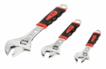Performance Tool W30703  3 Piece Adjustable Wrench Set
