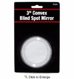 "Performance Tool W30C  3"" Adhesive Backed Round Blind Spot Mirror"