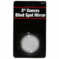 """Performance Tool W31C  2"""" Adhesive Backed Round Blind Spot Mirror"""