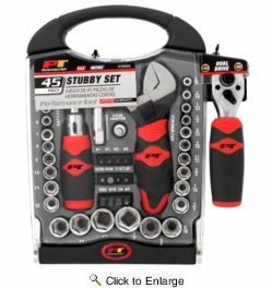 Performance Tool W39000  45 Piece Stubby Set