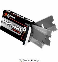Performance Tool W742  12 Piece Single Edge Razor Blade