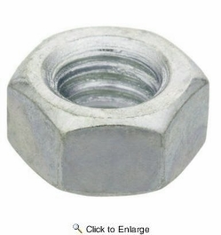 "PFC  5/8""-11 NC Grade A Finished Hex Nuts Zinc Plated - 800 per Box"