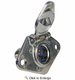 Pico 0705PT  4-Pole Heavy Duty Female Socket Electrical Connector