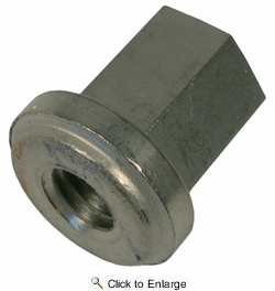 """Pico 0852A  3/8"""" Stainless Steel Battery Hold Down Stud Nut 25 per Package"""