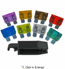 Pico 0975PT  Assorted Pack of 8 ATC-ATO Fuses and Fuse Puller