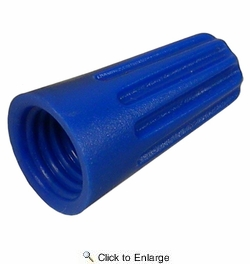 Pico 1544PT  Electrical Twist On Wire Connector Blue 22-16 AWG 25 Per Package