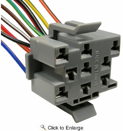 """Pico 5311A  1987-1993 Ford """"F"""" Trucks Dash Headlight Switch Nine Lead Wiring Pigtail 25 per Package"""