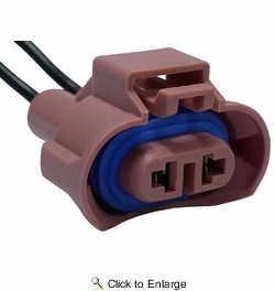 Pico 5342PT  880 Halogen Headlight Electrical Wiring Pigtail - Brown