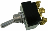 """Pico 5558PT   12 Volt 25 Amp Moment On-Off-Moment On Toggle Switch 3/4"""" Handle DPDT 1 per Package"""
