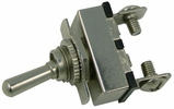 """Pico 5578PT  12 Volt 20 Amp Momentary On-Off  Toggle Switch 5/8"""" Metal Bat Handle With Indicator SPST 1 Per Package"""