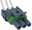Pico 5614PT  1984-1989 GM Air Conditioner Pressure Switch Three Lead Wiring Pigtail - Gray (12085507)