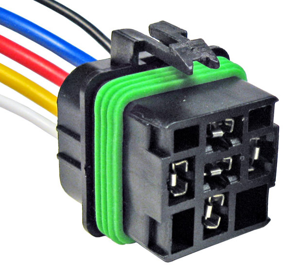 Pico 5667pt Gm Relay Five Lead Wiring Pigtail