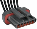 Pico 5703A  1981-1991 Ford Electronic Module E.E.C. IV Ignition Six Lead Wiring Pigtail - Gray (E5ZZ-12A209A) 25 Per Package