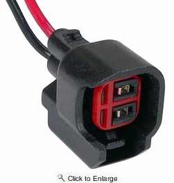 Pico 5714PT  1999-On Ford Fuel Injector Pigtail with Oval Connector Two Lead Wiring Pigtail