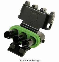 Pico 5865G  Three Cavity Weatherpack Connector Tower Housing (12015793) 50 per Package