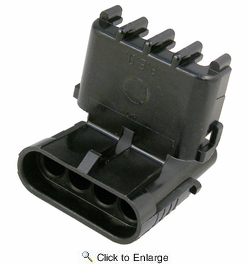 Pico 5867A  Four Cavity Weatherpack Connector Shroud Housing (12010974) 100 per Package