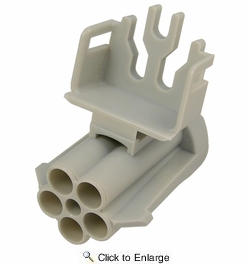 Pico 5871PT  Five Round Cavity Weatherpack Connector Shroud Housing (12065158) 1 per Package