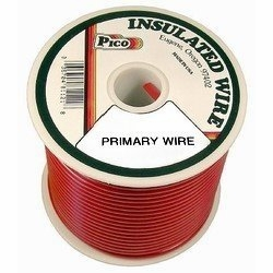 Pico 81081S  8 AWG Red Primary Wire 50' per Package