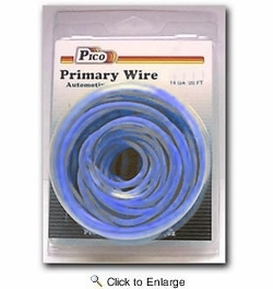Pico 81145PT  14 AWG Blue Primary Wire 20' per Package