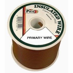 Pico 81186S  18 AWG Brown Primary Wire 100' per Package