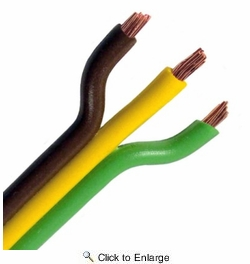 Pico 8140PT  14 Gauge 3 Conductor Parallel Primary Wire 25' per Package