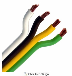 Pico 8141A  14 Gauge 4 Conductor Parallel Primary Wire 250' per Package