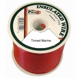 Pico 83101S  10 AWG Red Tinned Marine Wire 100' per Package