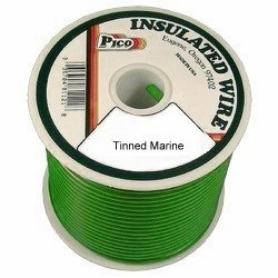 Pico 83144S  14 AWG Green Tinned Marine Wire 100' per Package