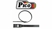 Pico Black Cobra Low Profile Tie Wraps
