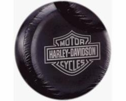 Plasticolor 0795R01  Harley-Davidson Gray Bar & Shield Spare Tire Cover