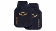 Plasticolor 1381R01  Chevrolet Factory Style Trim-To-Fit Molded Front Floor Mats - Set of 2 per Package