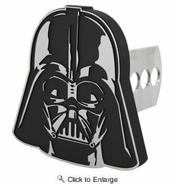 PlastiColor 2282R01  Star Wars Darth Vader Hitch Cover