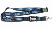 PlastiColor 4432R01  Ford Lanyard Key Chain