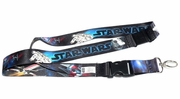 PlastiColor 4452R01  Star Wars Space Scene Lanyard Key Chain
