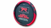 PlastiColor 6341  Red R Racing Steering Wheel Cover