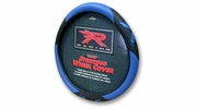 PlastiColor 6342  Blue R Racing Steering Wheel Cover