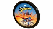 PlastiColor 6483R05  Superman Silver S-Shield Steering Wheel Cover