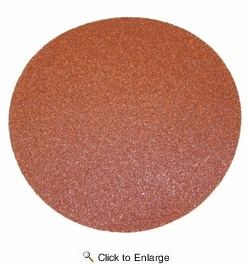 """Porter Cable 725001225  5"""" Round 120 Grit (Adhesive Backed, No Holes)  Sanding Discs 25 Discs per Package"""