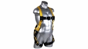 Qual-Craft 01703  Velocity Economy Safety Harness - Adjustable Small to Large