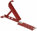 "Qual-Craft 2500  Adjustable Steel Roofing Bracket - 10"" Platform"